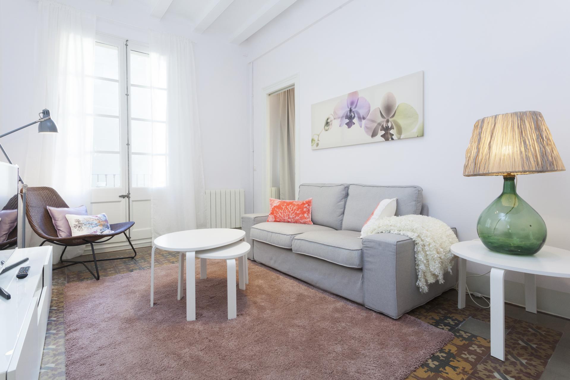 Alquiler mensual amplio piso en la Ciutat vella