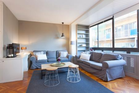 Grandioso piso con cuatro dormitorios en Sarrià