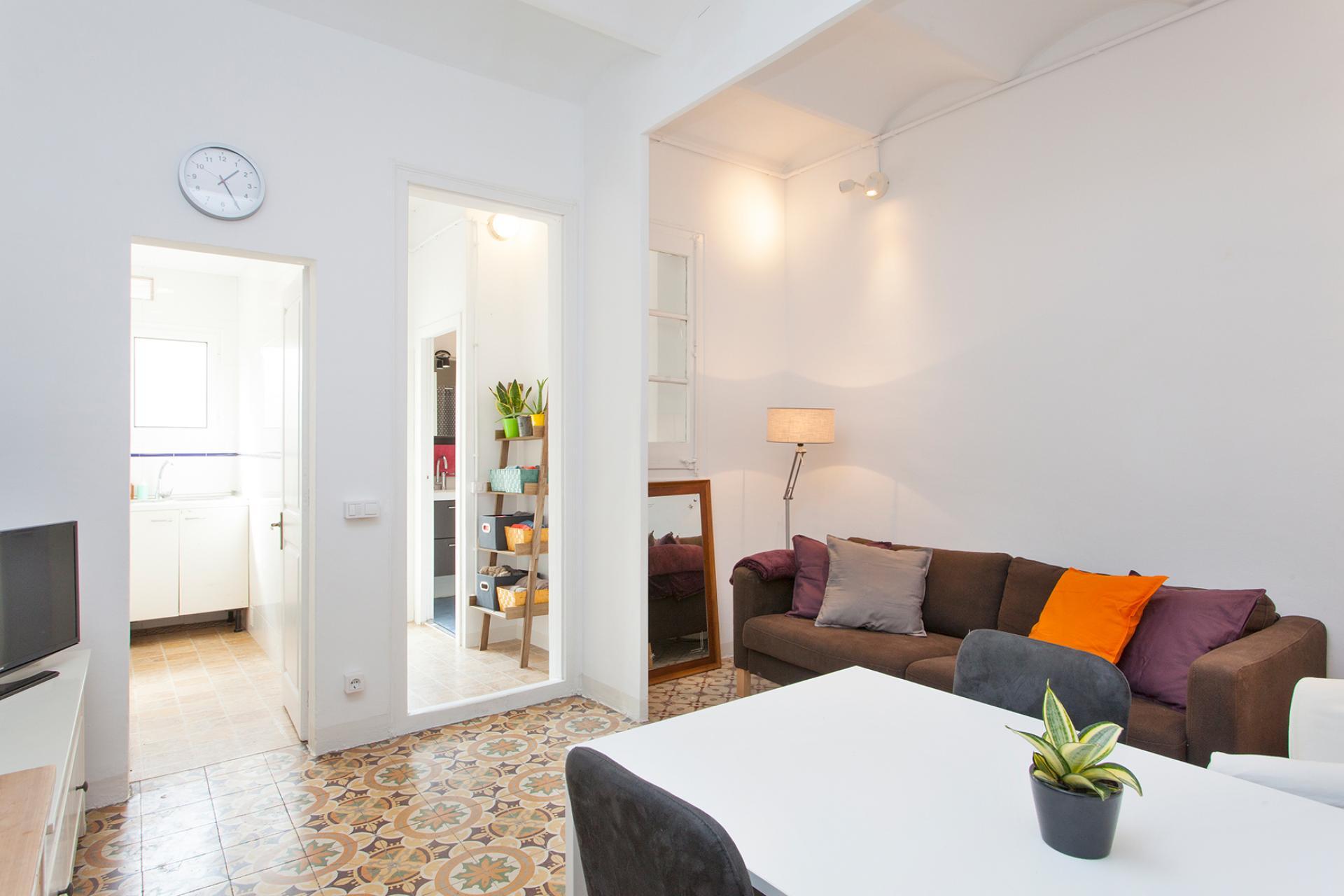 Wohnung zur Miete in Barcelona Marià Aguiló - Pallars