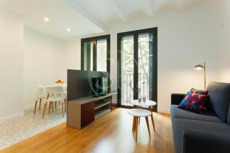 Luminosa vivienda de alquiler en C/ Consell de Cent
