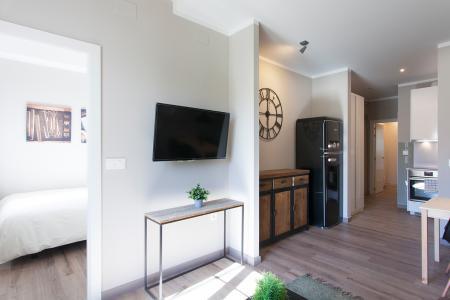 Luminoso apartamento para alugar na Consell de Cent