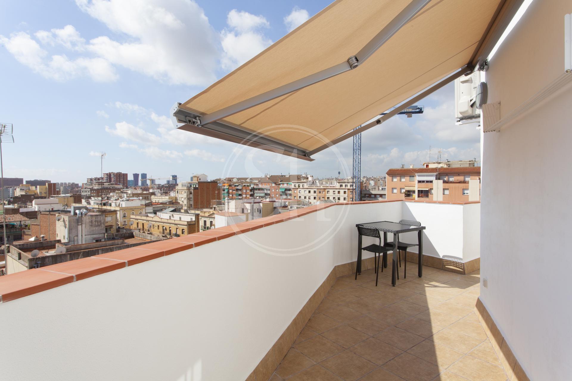 Stupendo attico con vista su Barcellona