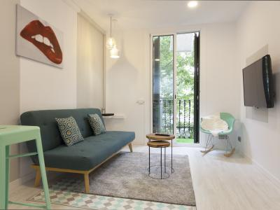 Appartement te Korte termijn huren in Barcelona Blasco De Garay - Paralel