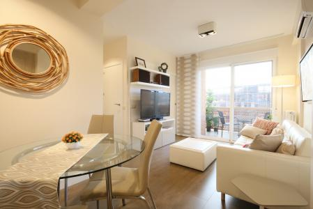 Piso cálido de alquiler en Paseo de La Castellana cerca de las Cuatro Torres - Madrid