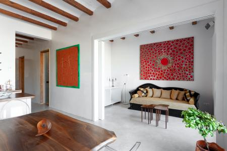 Two bedroom two bathroom flat with balcony and terrace to rent in Eixample