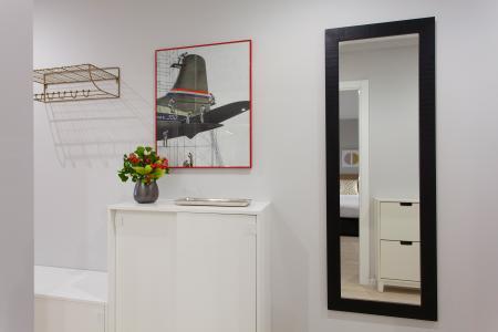 Interessante appartamento arredato in affitto in via Bertran