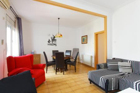 Luminoso appartamento con tre stanze da letto nel Eixample