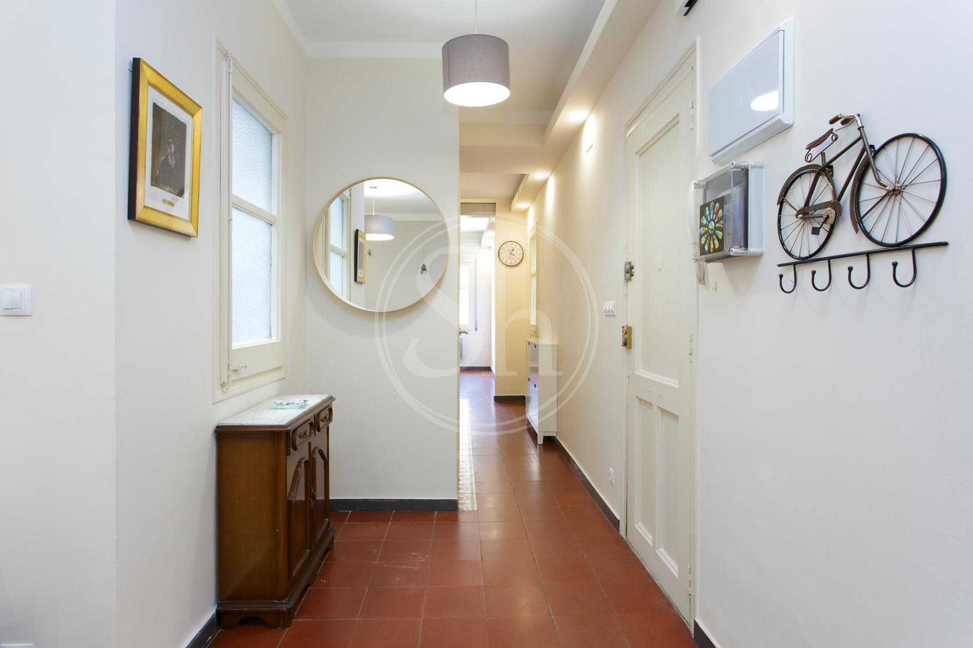 Interessante appartamento in affitto in via Santa Carolina
