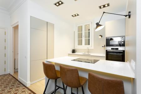 Spettacolare appartamento in affitto in via Balmes