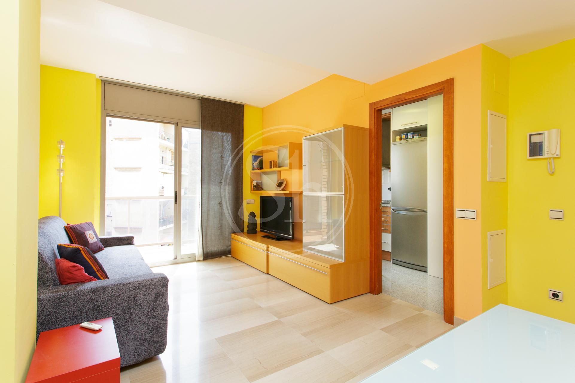 Appartement te huur in Barcelona Jocs Florals - Sants