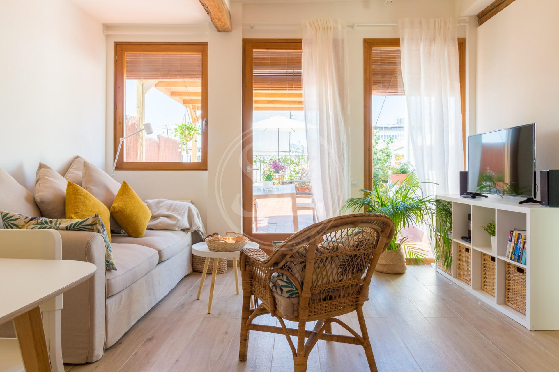 Penthouse à louer à Barcelona Avinyó - Ample