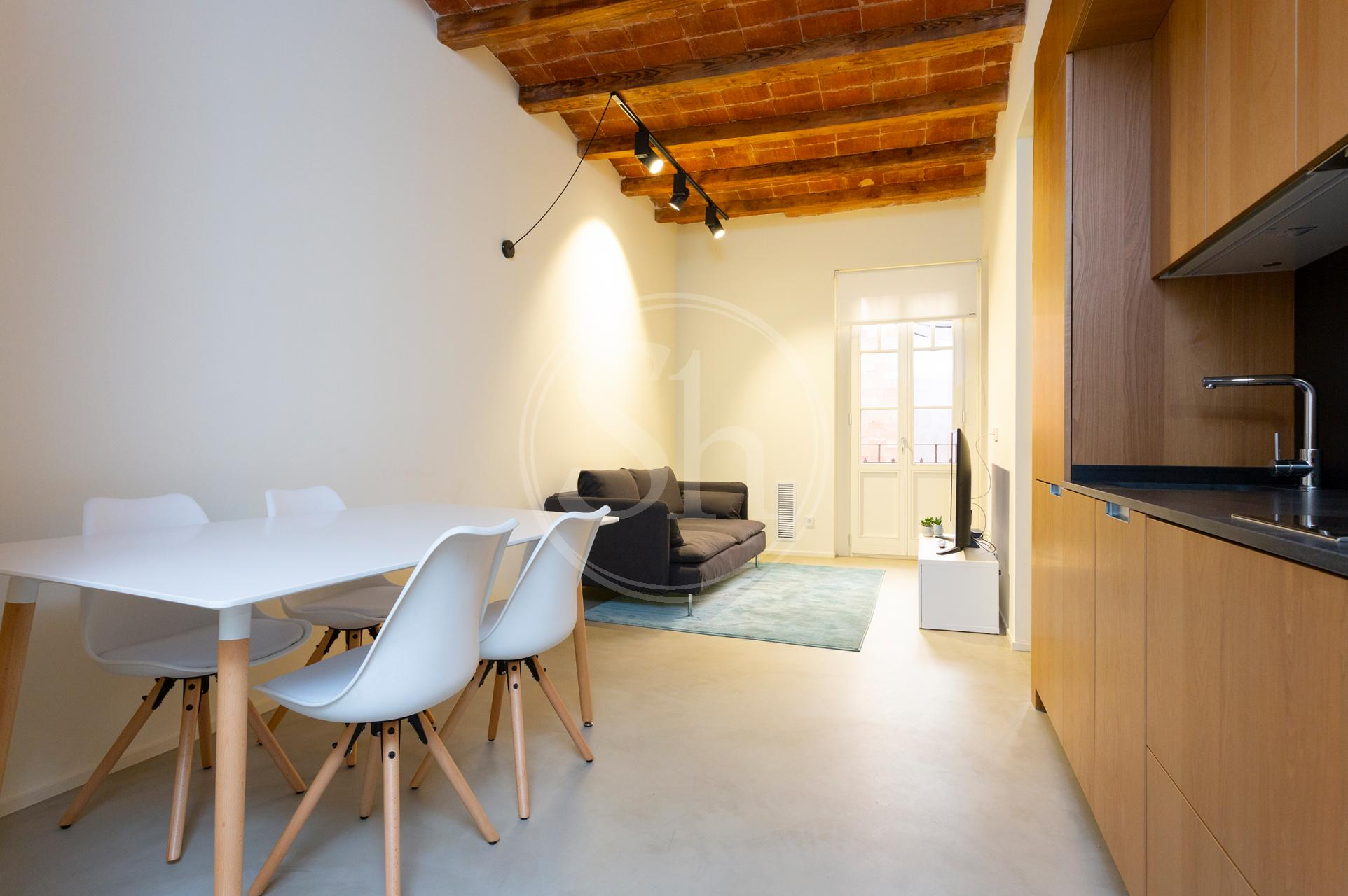 Shbarcelona Flat To Rent In The City Centre With Terrace
