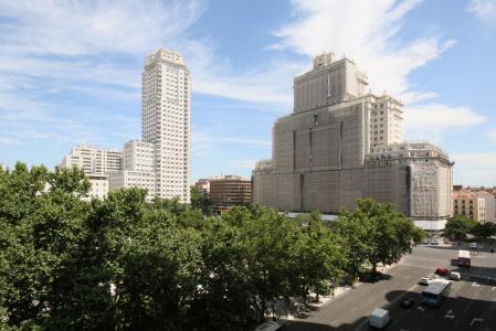Appartement te huur in Madrid Plaza España - Gran Via