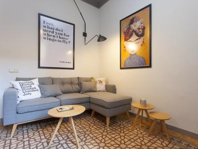 Appartamento in Affitto a breve termine a Barcelona Plaza Tetuan - Paseo De Sant Joan (till 30/09/20)
