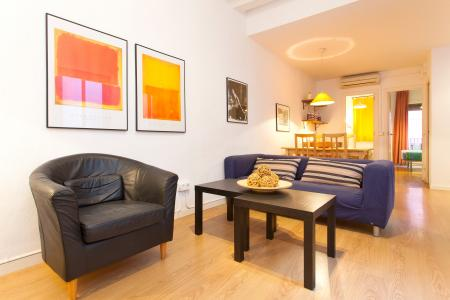 Modern and completely furnished apartment with two bedrooms