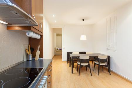 Apartamento de aluguel mensal na rua Bordeta - Plaça Espanya