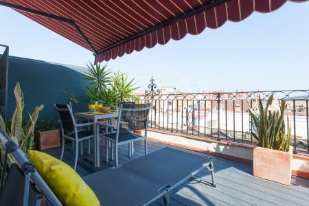 Spectaculaire penthouse avec belle terrasse