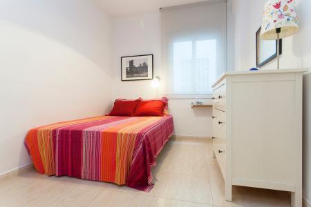 Appartamento con terrazza in affitto vicino alla Avenida Diagonal