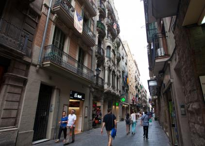 Appartement te huur in Barcelona Santa Anna - Rambla Canaletes (special Conditions)