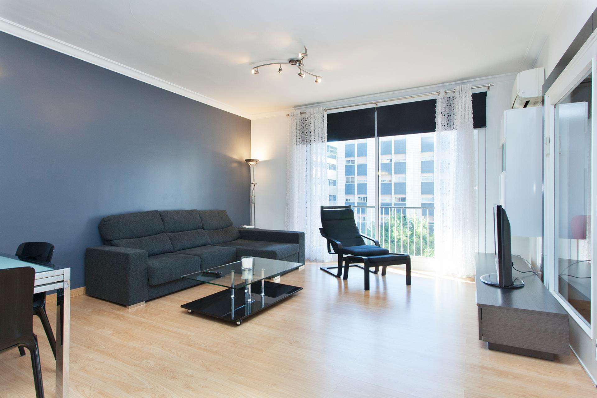 Incantevole appartamento in affitto in via Balmes con Plaza Molina