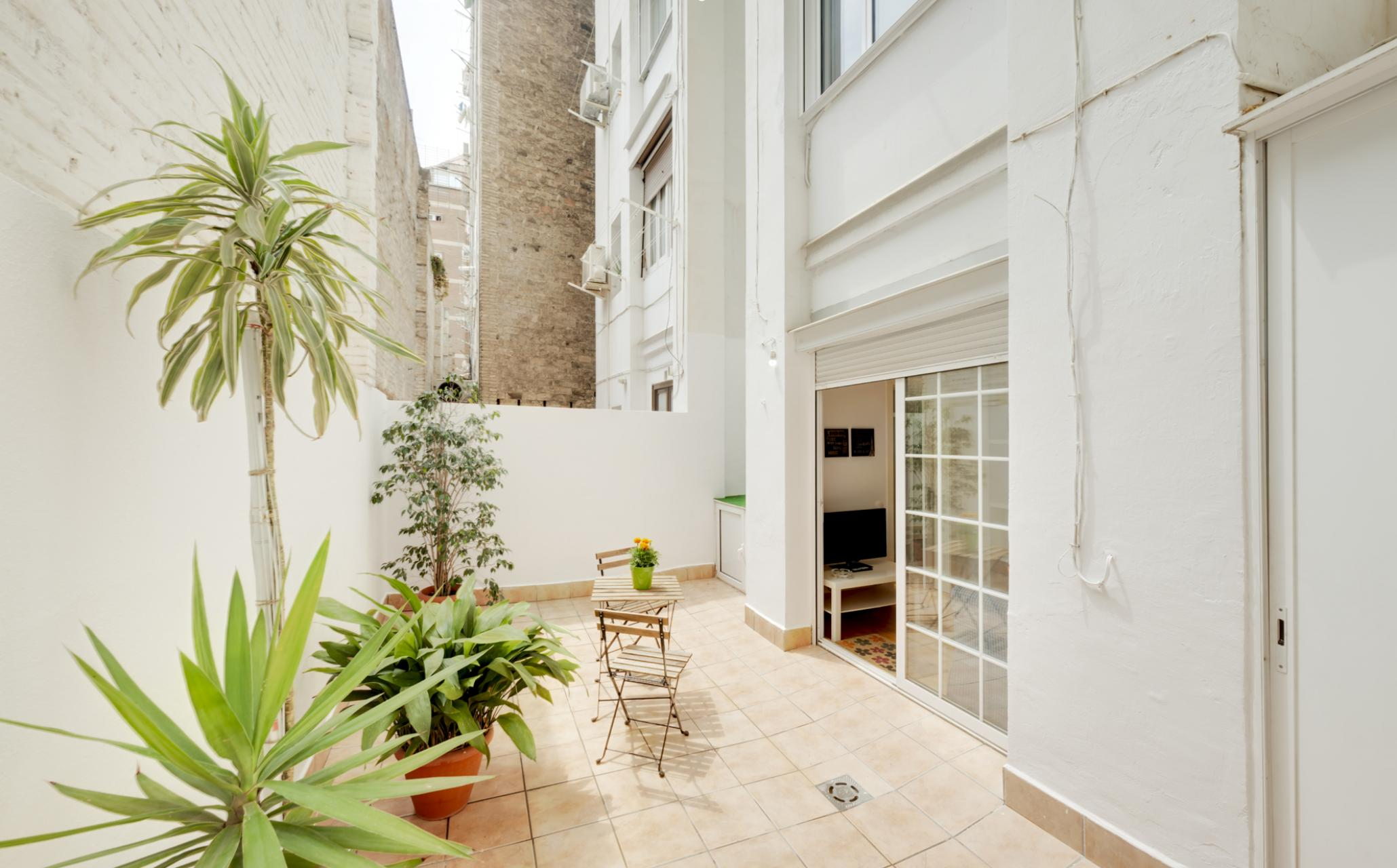 Shbarcelona appartement location mensuelle eixample for Location appartement design barcelone