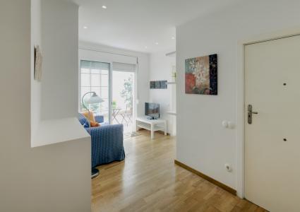 Luminoso piso en alquiler mensual en el Eixample