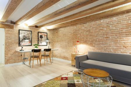 Appartement économique de 2 chambres à louer à Barcelone