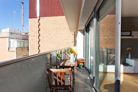 Estiloso apartamento para alugar na Gràcia de Barcelona