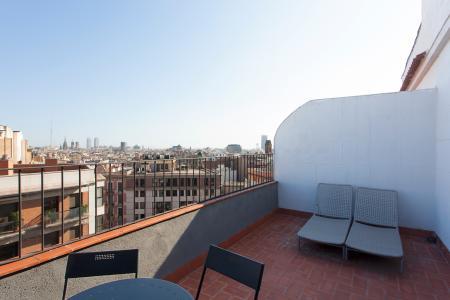 Penthouse te huur in Barcelona Villarroel - Tamarit