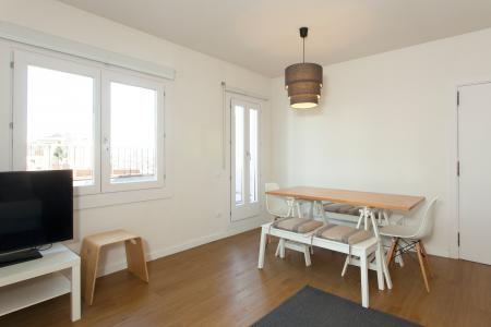3-bedroom penthouse with terrace for rent in Sant Antoni