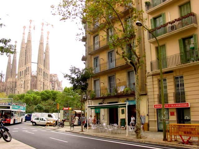 Pis en Lloguer a Barcelona Provença - Placa Sagrada Familia