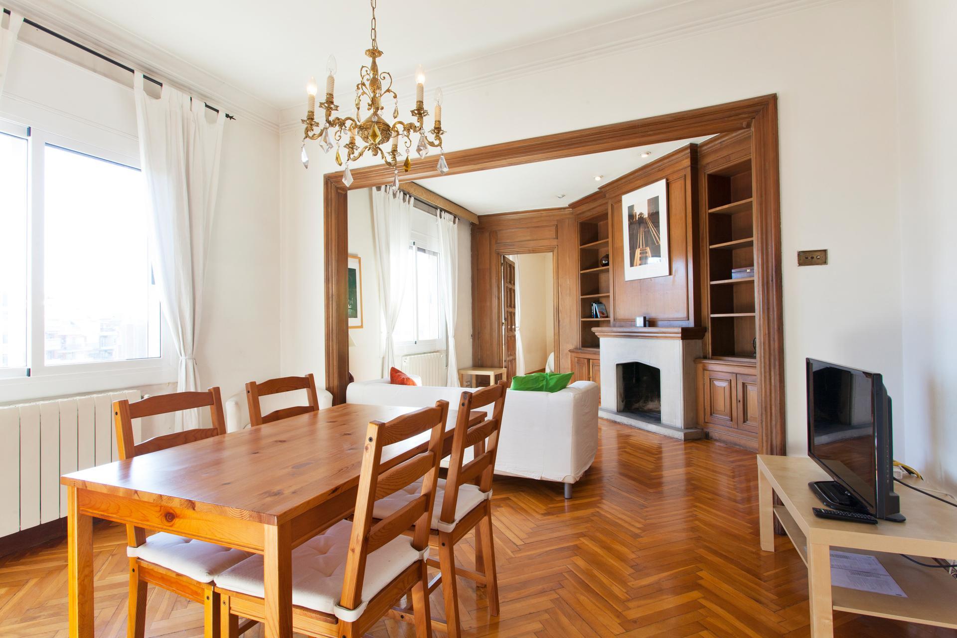 Piso en alquiler barcelona l 39 eixample comte urgell mallorca - Alquiler pisos barcelona eixample ...