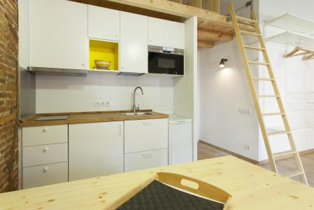Stylish studio flat to rent in Poble Sec Barcelona