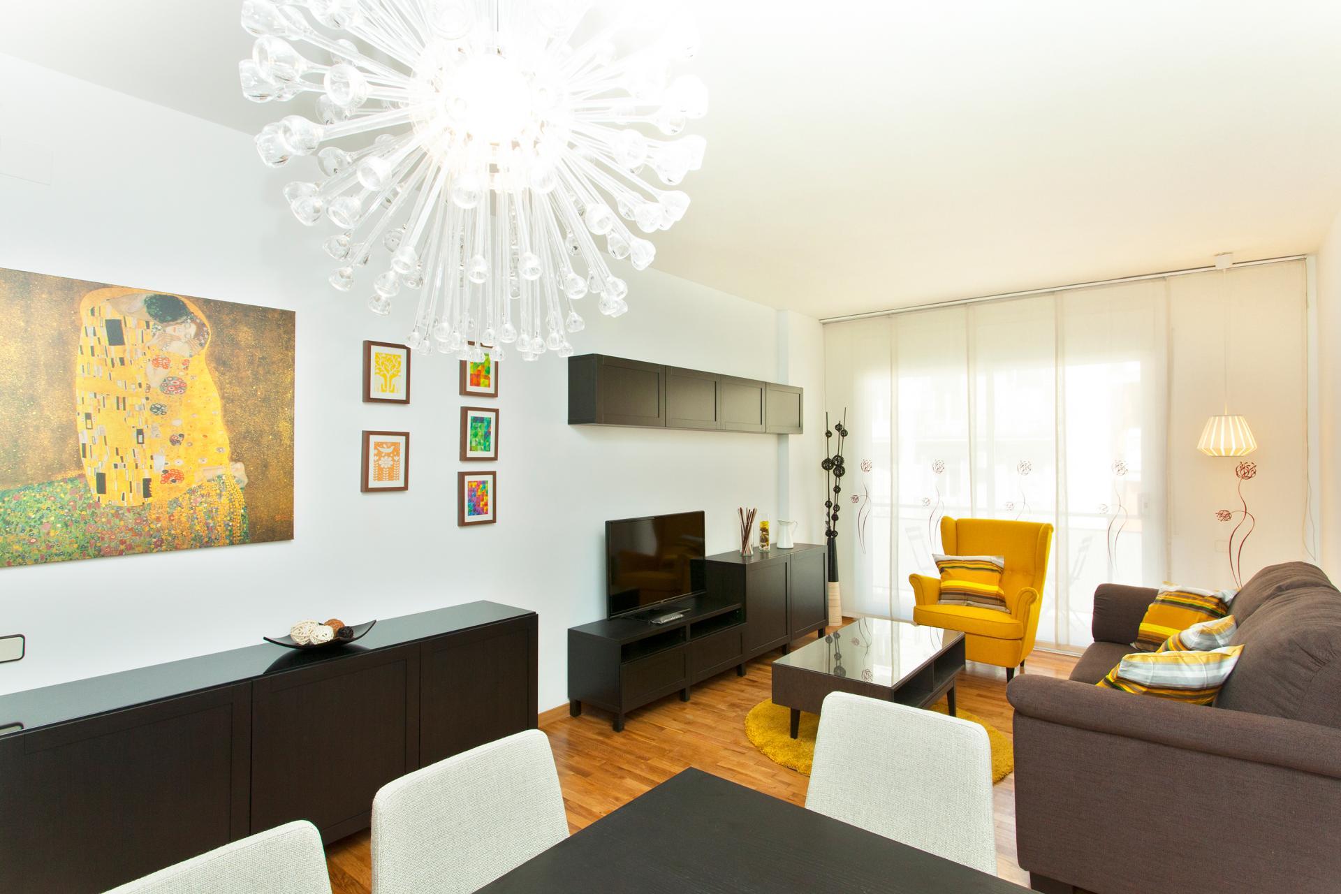 Shbarcelona appartement louer piscine eixample barcelone for Location appartement design barcelone