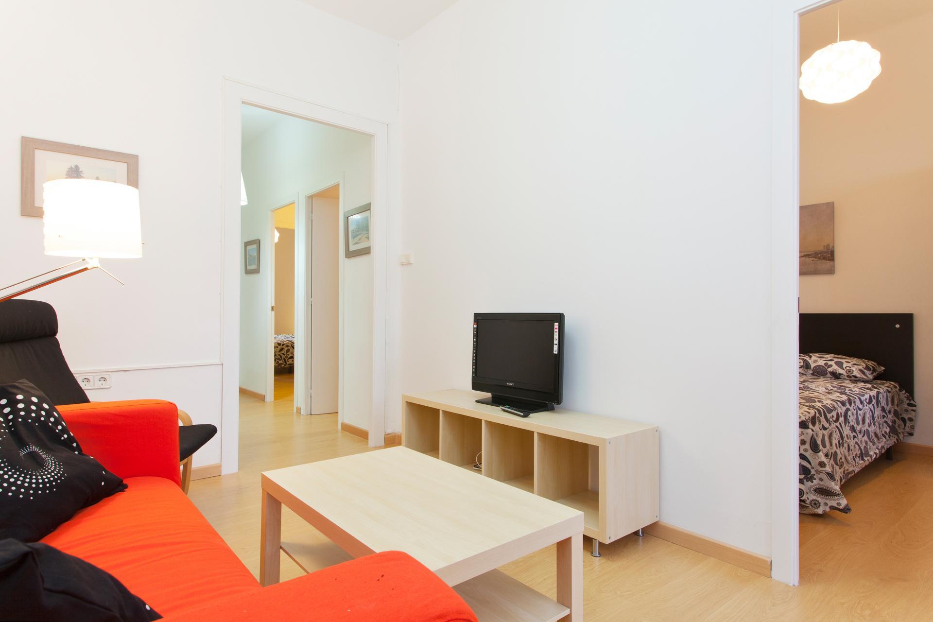 Appartement avec trois chambres en location barcelone for Location appartement design barcelone