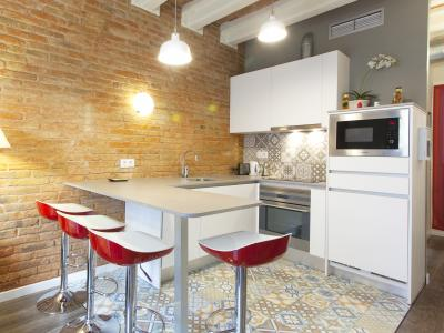Modern flat located in Poble Sec district
