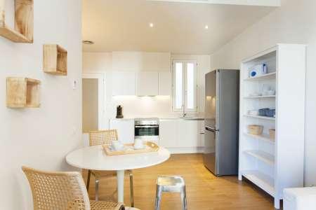 Wohnung zur Miete in Barcelona Villarroel - Tamarit