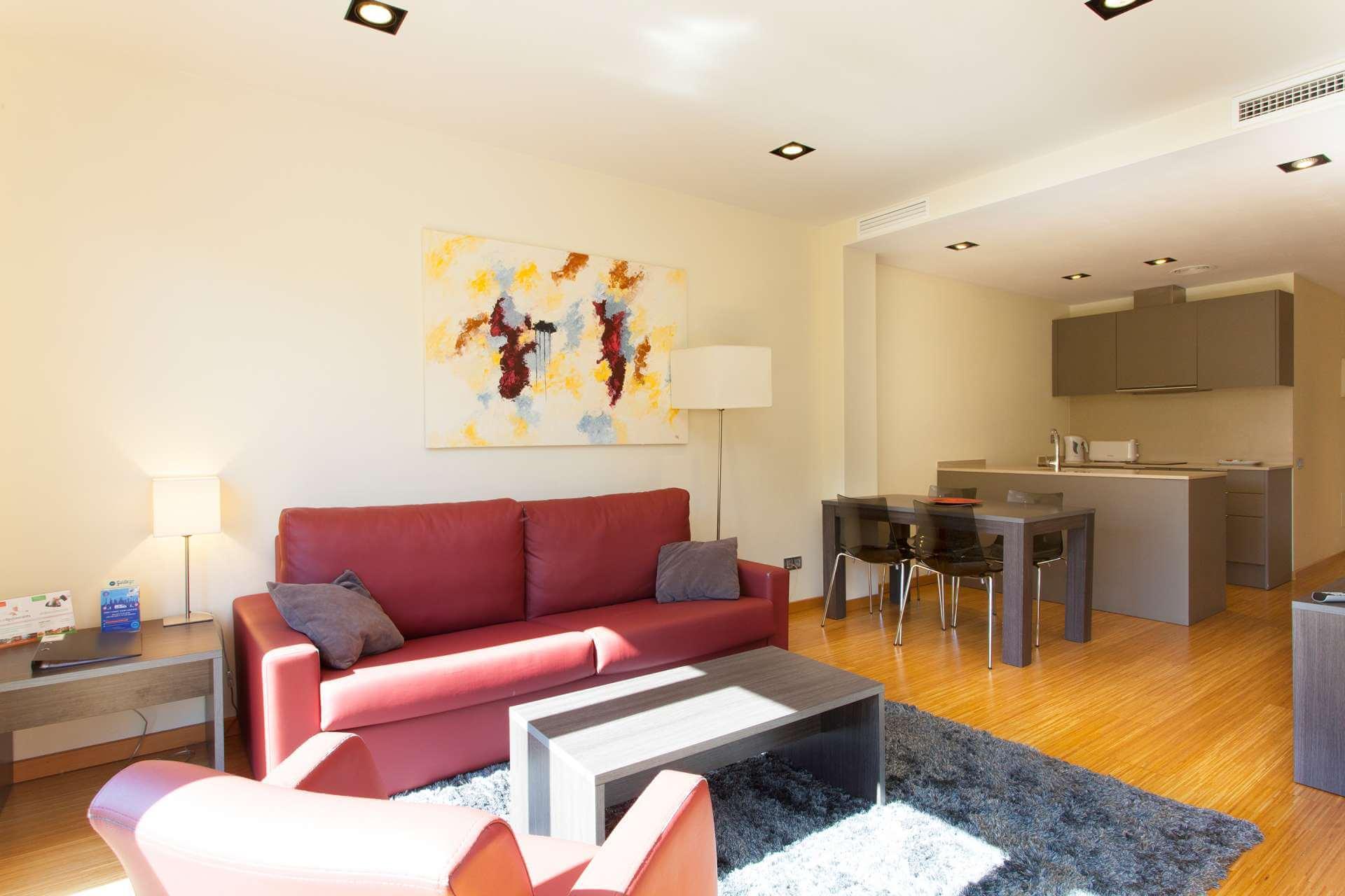 Appartement te Korte termijn huren in Barcelona Diagonal-sardenya