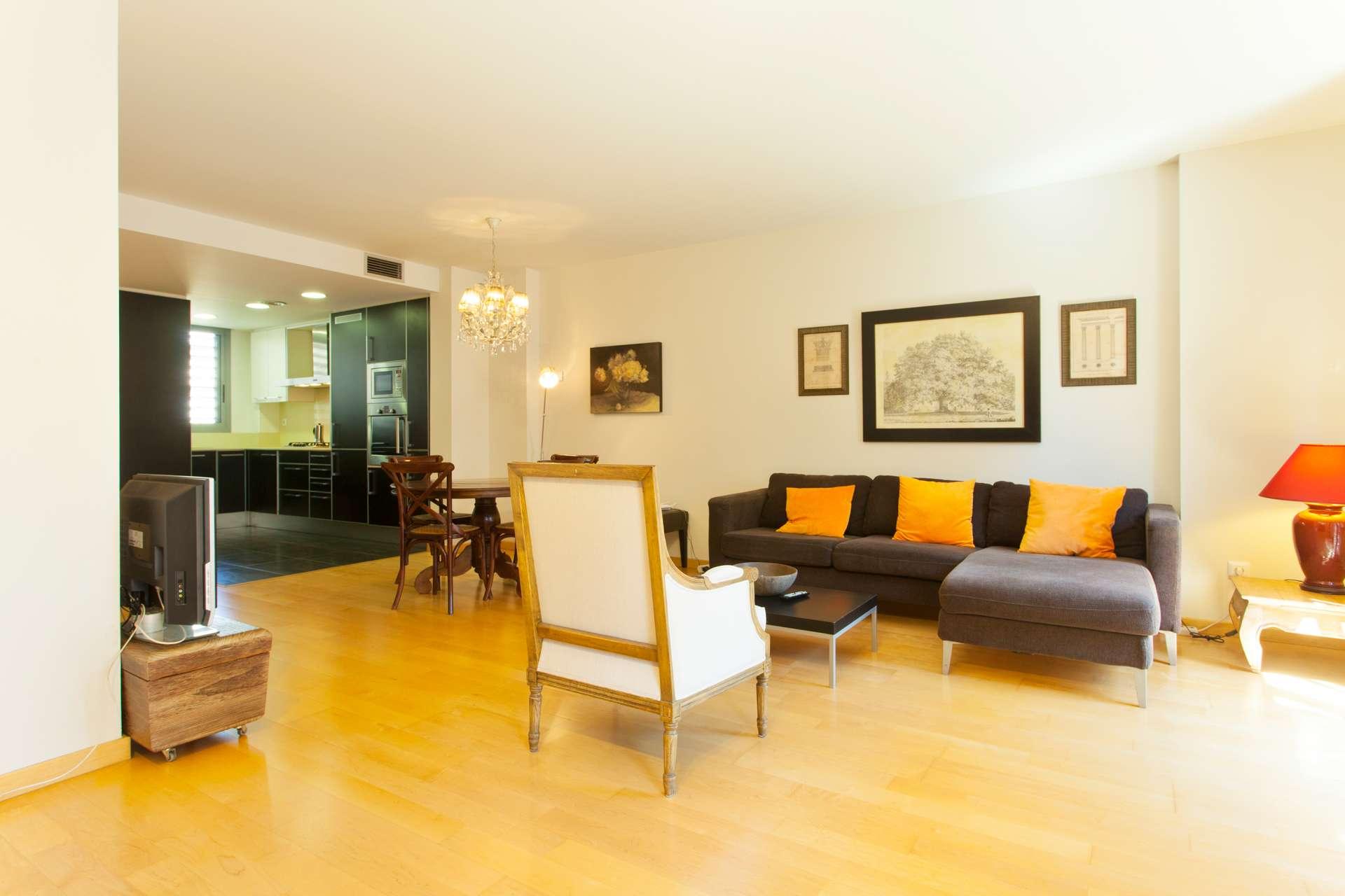 Piso en alquiler barcelona l 39 eixample consell de cent - Amueblar piso completo barcelona ...