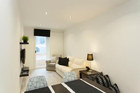 Amplio y luminoso piso con balcón ubicado en Poble Sec