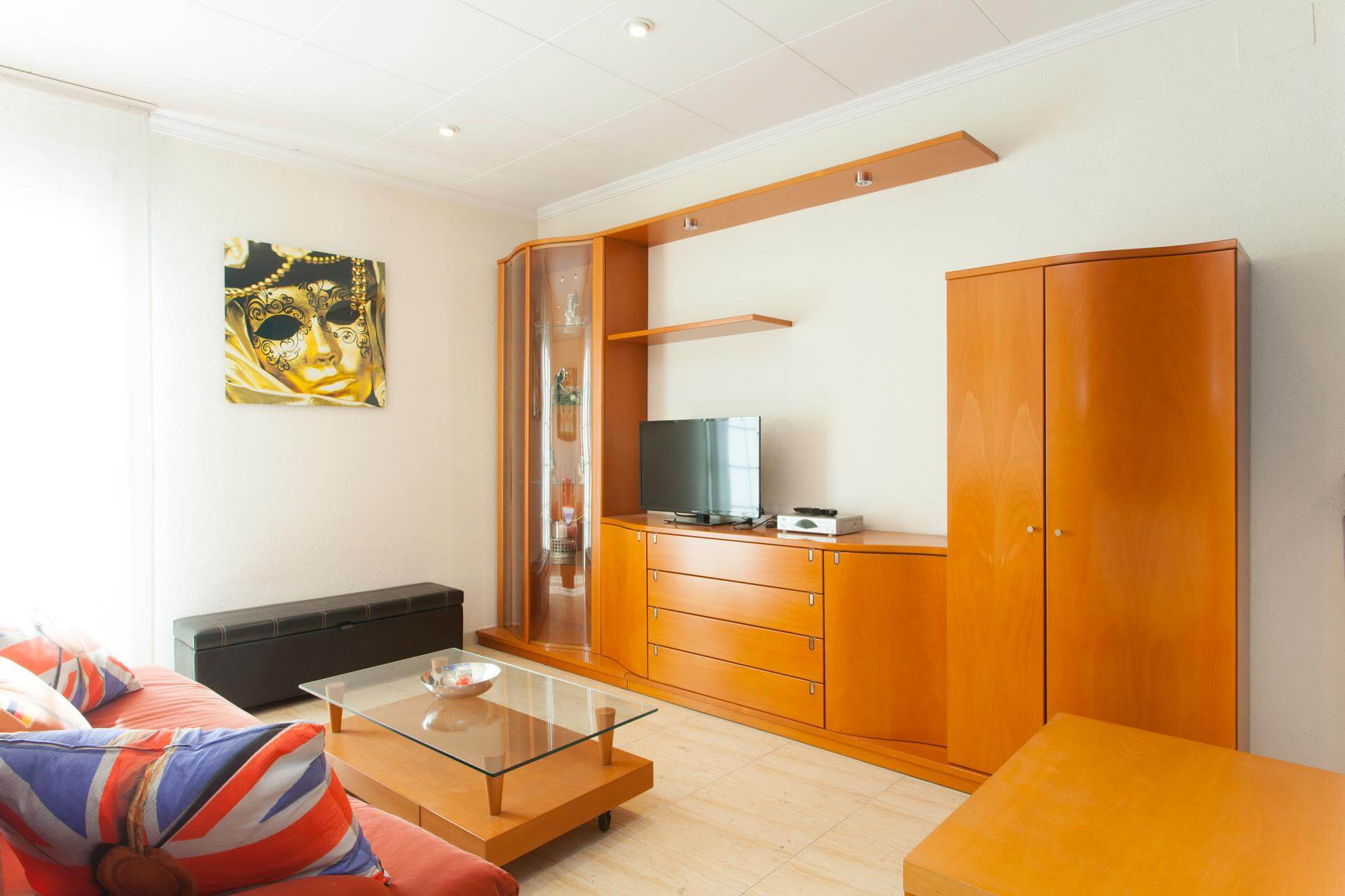 Appartement te huur in Barcelona Consell De Cent - Plaza España