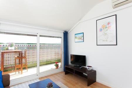 Magnifico attico in affitto nel distretto di Sants Montjuic