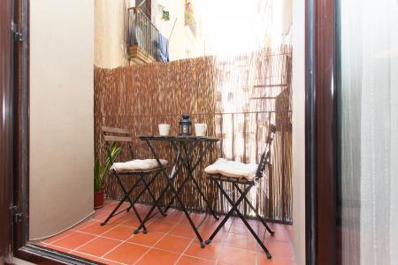 Loft con balcón en alquiler en Ciutat Vella