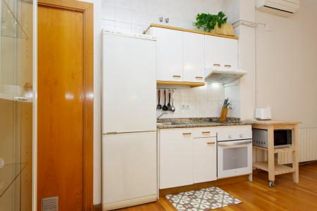 Cosy studio loft for rent with terrace in Ciutat Vella