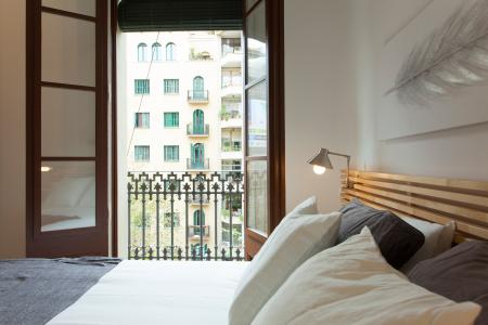 Piso con contrato de alquiler mensual en Sant Antoni