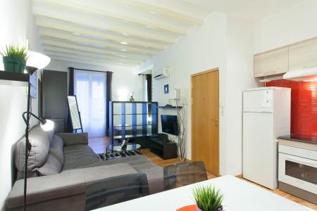Comodo monolocale con balcone in affitto in via Roig