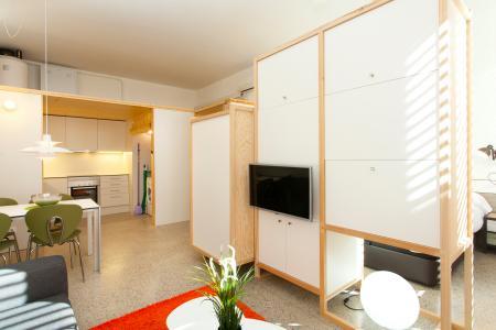 Appartement décoré avec goût à louer dans un quartier moderne