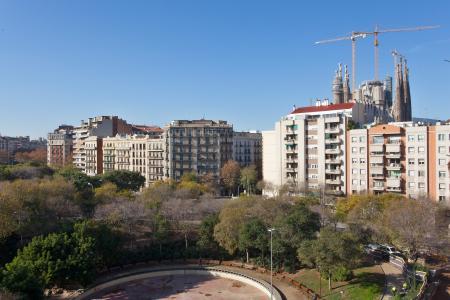 Stupendo monolocale con vista alla Sagrada Familia