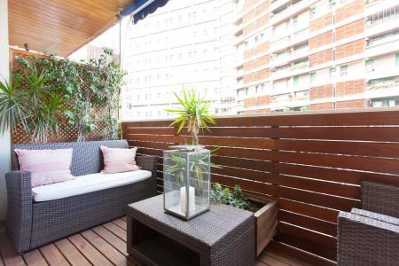 Appartamento con terrazza in affitto a Sarria Sant Gervasi