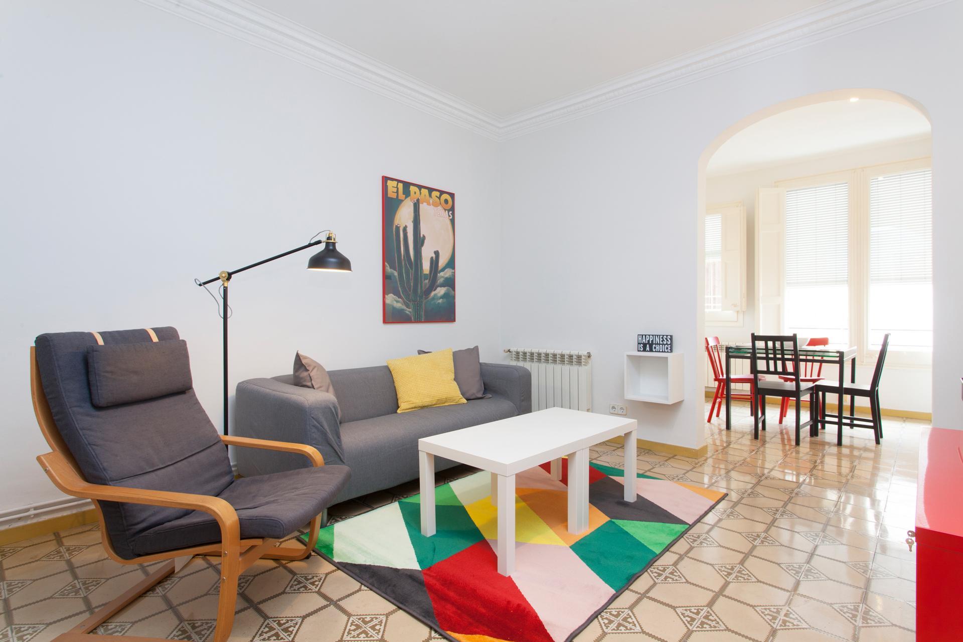 Shbarcelona appartement en location dans l 39 eixample for Location appartement design barcelone